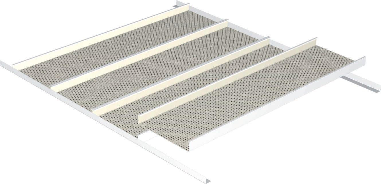 Faux plafond m tallique isolation id es - Ossature metallique pour faux plafond ...