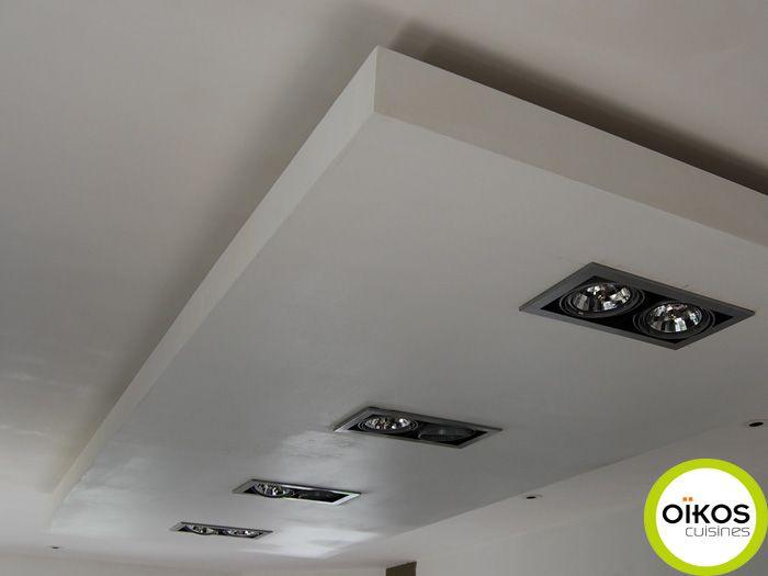 Pose De Spot Encastrable Au Plafond Avec Laine De Verre Great