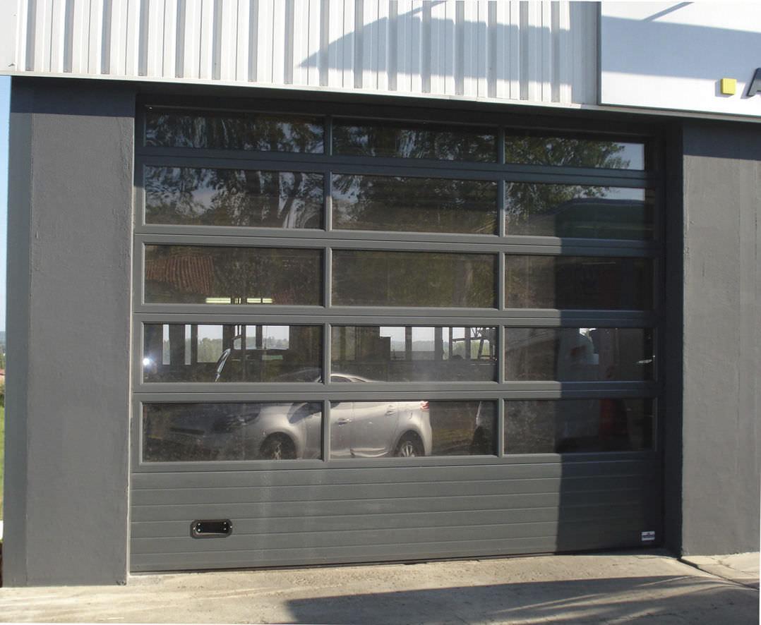 Bien connu Porte de garage vitré - Isolation idées GD59