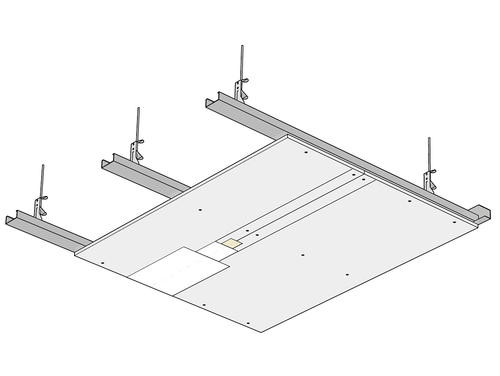plafond suspendu fixation isolation id 233 es