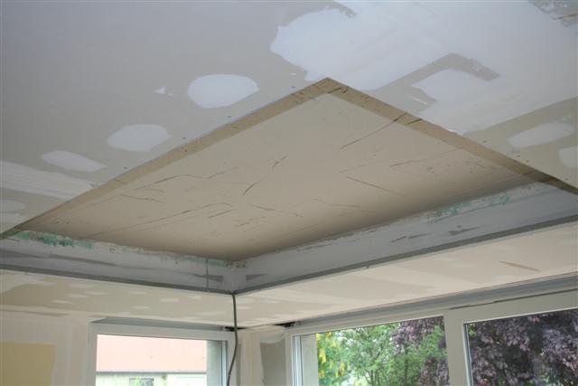 Caisson plafond suspendu fabulous maison with caisson for Plafond decoratif salon