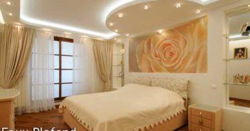 Faux plafond chambre à coucher platre - Isolation idées