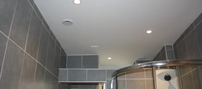 plafond sdb pvc - isolation idées - Plafond Pvc Pour Salle De Bain