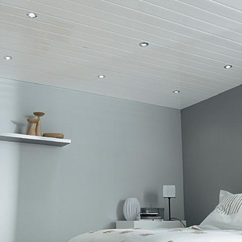 lambris pvc blanc mat pour plafond isolation id es. Black Bedroom Furniture Sets. Home Design Ideas