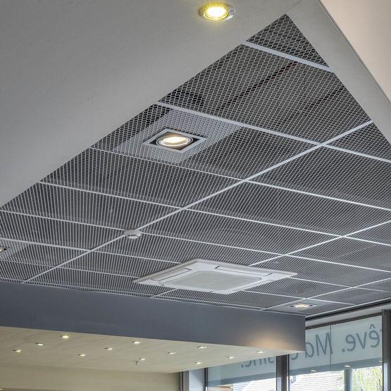 Plafond Suspendu Metal Isolation Id 233 Es