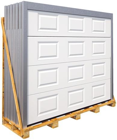 Portes De Garage Pas Cher Porte De Garage Dimension Standard - Porte de garage sectionnelle avec porte entrée pvc ou alu