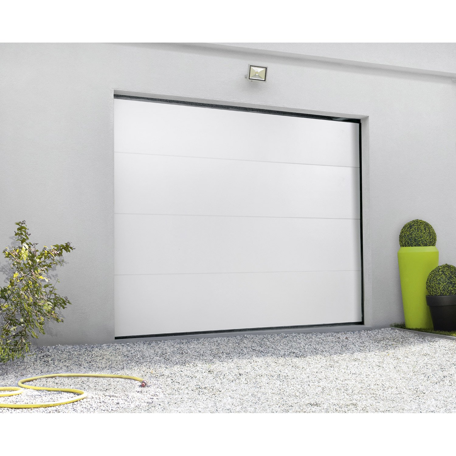 porte de garage wayne dalton leroy merlin isolation id es On isolation porte de garage leroy merlin