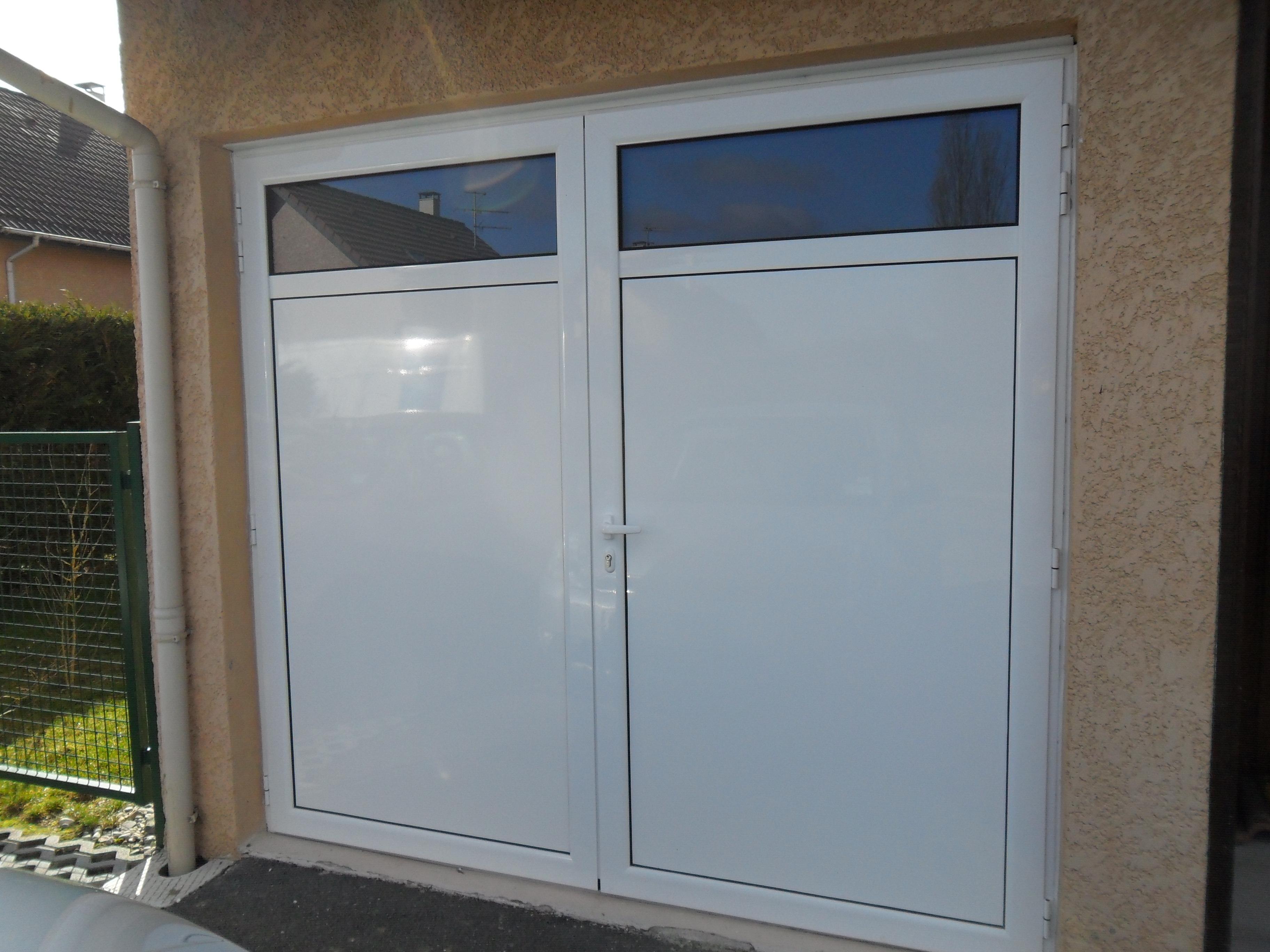 Porte de garage deux battants isolation id es - Isolation porte de garage battant bois ...