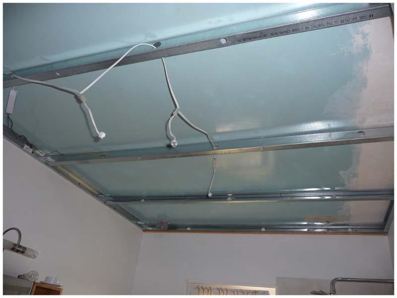 Faire un plafond en pvc isolation id es for Faire un plafond en lambris