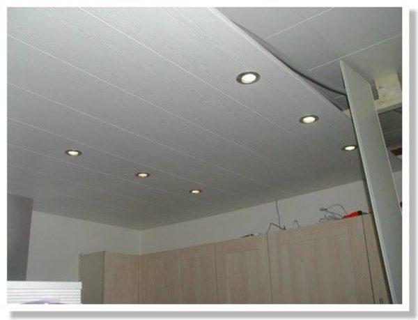 Lambris pvc pour plafond salle de bain isolation id es - Lambris pvc grosfillex salle de bain ...