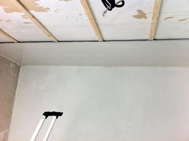 Pose lambris pvc plafond salle de bain - Isolation idées