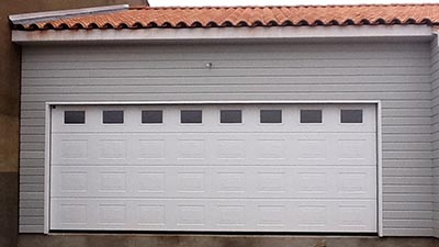 Porte de garage grande isolation id es for Prix porte garage double
