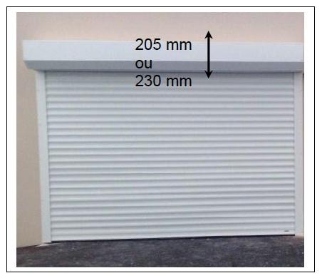 volet roulant porte de garage brico depot - isolation idées