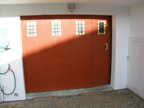 Porte De Garage Coulissante D'Occasion - Isolation Idées