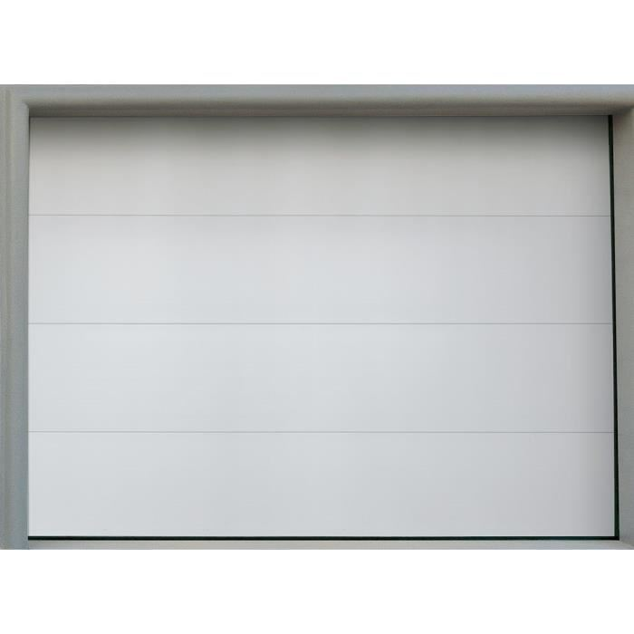Porte De Garage Sectionnelle Motoris E 3 X 2 M Isolation Id Es