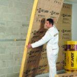 Isolant thermique fin pour mur