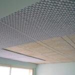 Isolation phonique et thermique plafond