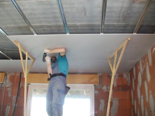 Placo pour plafond isolation id es - Refaire un plafond en placo ...