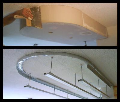 realisation plafond suspendu isolation id es. Black Bedroom Furniture Sets. Home Design Ideas
