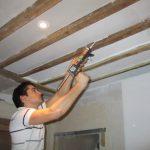 Isolation phonique plafond a la francaise