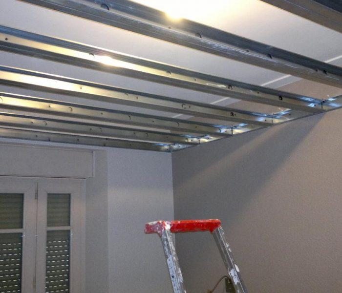 Isolation phonique sur plafond existant