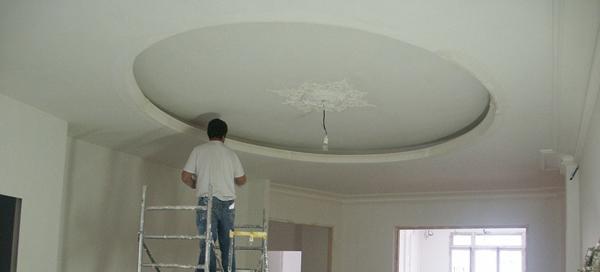 Faux plafond sur plafond platre isolation id es for Fabriquer un plafond suspendu