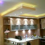 Faux plafond de cuisine