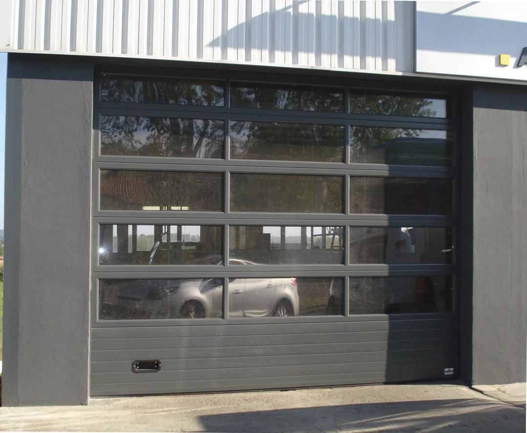 porte de garage vitr isolation id es. Black Bedroom Furniture Sets. Home Design Ideas