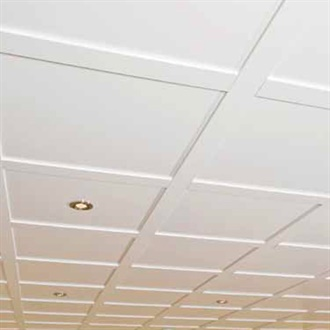 Plafond suspendu boulanger isolation id es - Plafonds suspendus dalles decoratives ...