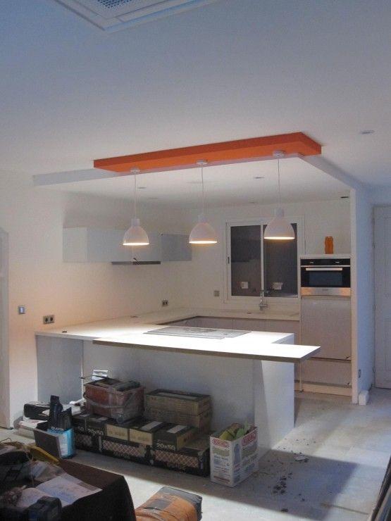 Fabuleux Faux plafond cuisine design - Isolation idées ZT71