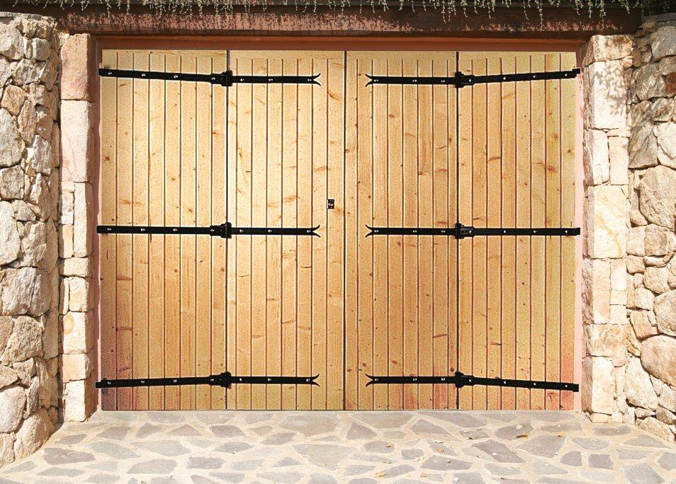 Porte de garage en bois 4 vantaux isolation id es - Isolation porte de garage battant bois ...