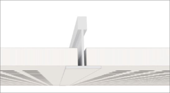 Faux plafond bord x isolation id es for Dalle chauffante exterieur