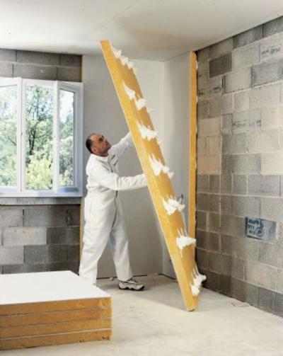 isolation phonique mur calibel isolation id es. Black Bedroom Furniture Sets. Home Design Ideas