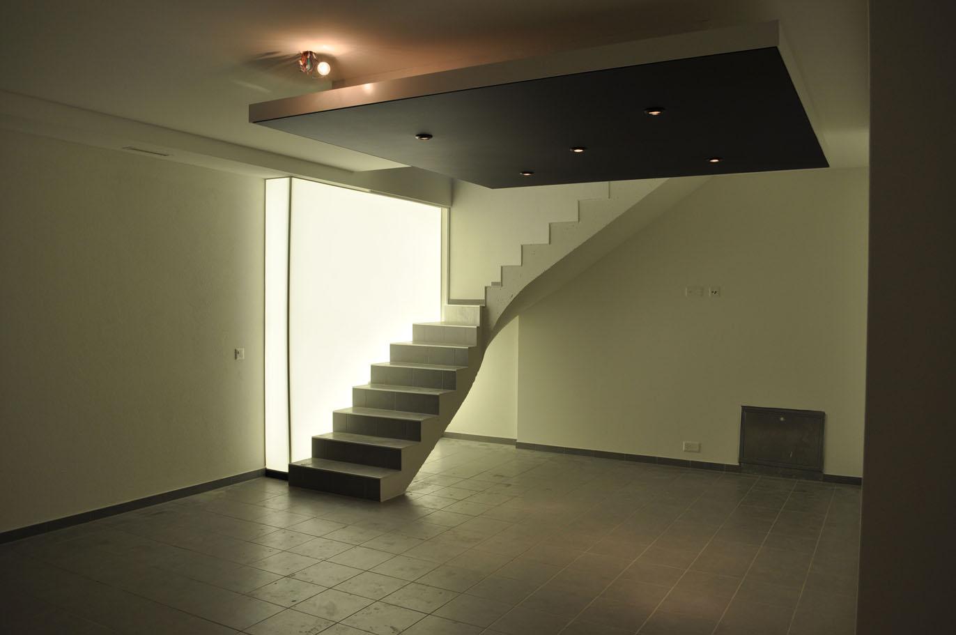 Plafond suspendu avec spot isolation id es - Plafond tendu pas cher ...