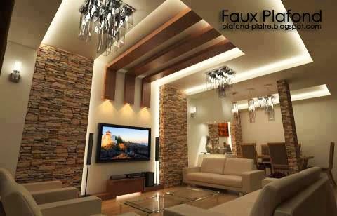 faux plafond sejour isolation id es. Black Bedroom Furniture Sets. Home Design Ideas