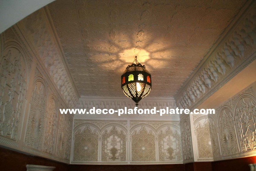 Faux plafond oriental isolation id es for Idee faux plafond pas cher