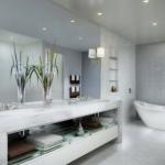 Plafond suspendu salle de bain