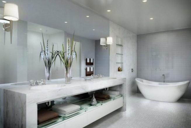 Quel faux plafond pour salle de bain