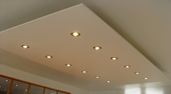 Plafond suspendu en gypse isolation id es - Faux plafond suspendu en dalles isolantes ...