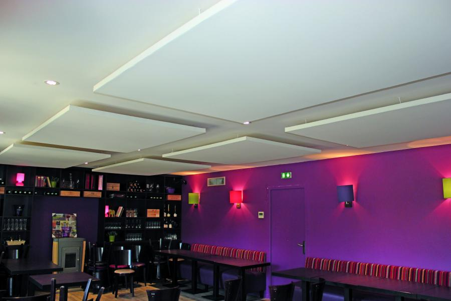 Plafond suspendu restaurant isolation id es - Isolation phonique plafond suspendu ...