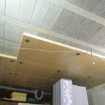 Pose isolation plafond