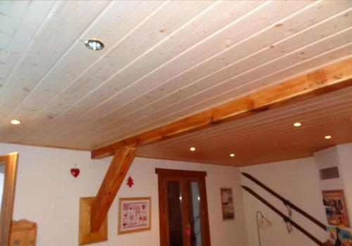 Lambris de plafond Isolation idées # Lambris Bois Plafond
