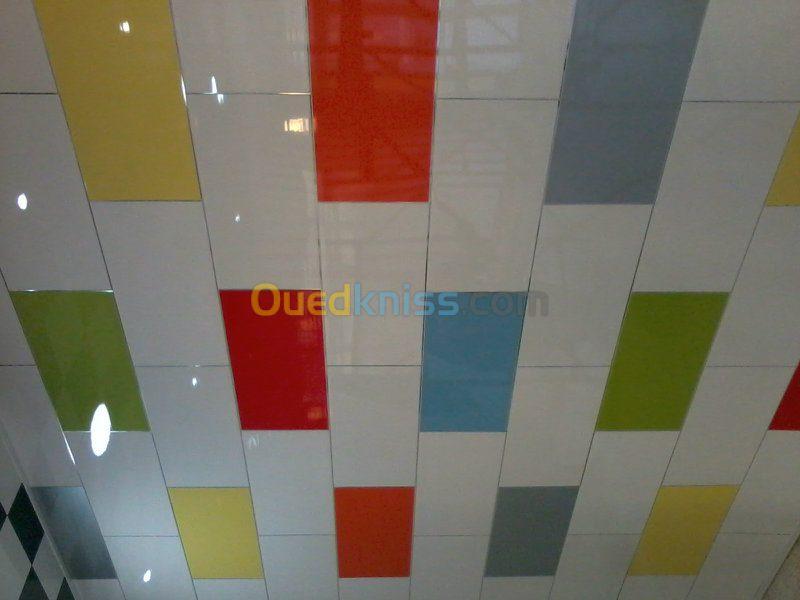 Faux plafond en plastique isolation id es for Faux plafond plastique