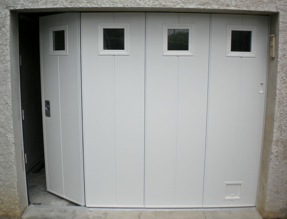 Porte De Garage Coulissante Alu - Isolation Idées