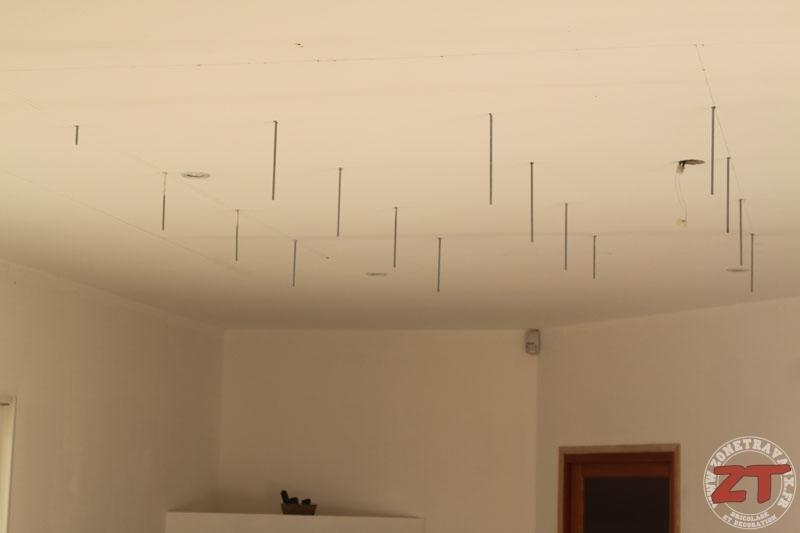 comment faire faux plafond avec dalles isolation id es. Black Bedroom Furniture Sets. Home Design Ideas