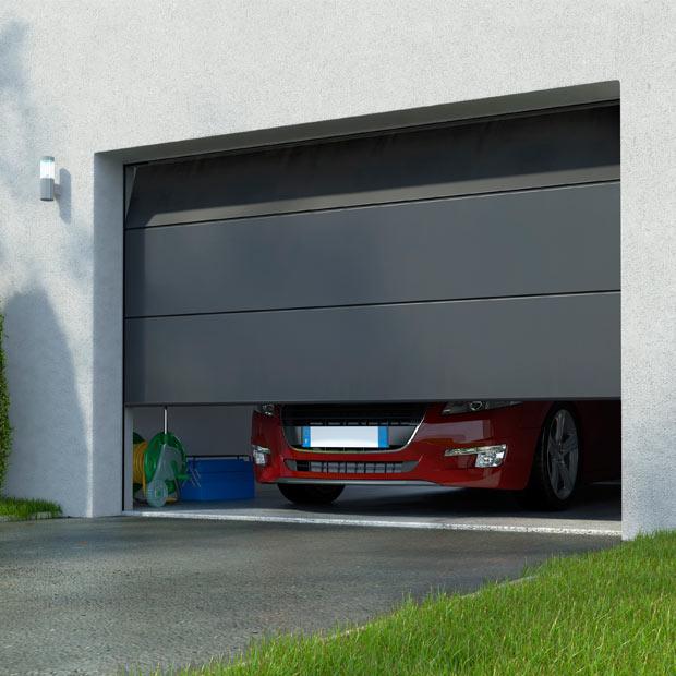 Porte de garage sectionnelle lapeyre isolation id es - Porte de garage sectionnelle lapeyre ...