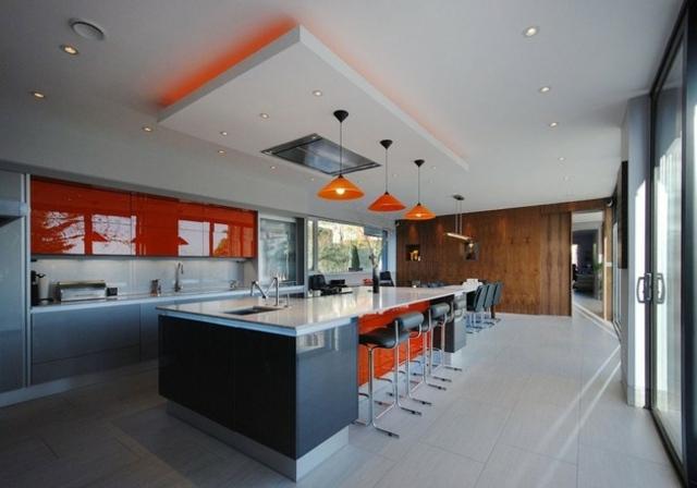Plafond De Cuisine. Stunning Spot Pour Chambre A Coucher Awesome ...
