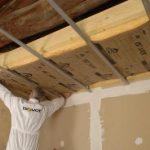 Quelle isolation pour faux plafond