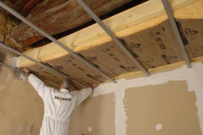 Quelle isolation pour faux plafond isolation id es for Isolation faux plafond