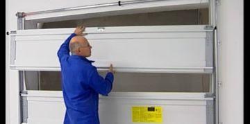 Porte de garage qui grince isolation id es - Comment reboucher une porte ...